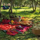 Tablecloth Provence Cotton, , hi-res image number 3