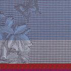 Hand towel Jardin des papillons Blue 54x38 100% cotton, , hi-res image number 1
