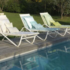 Sun lounger cushion Syracuse Aqua 60x190 Acrylic, , hi-res image number 2